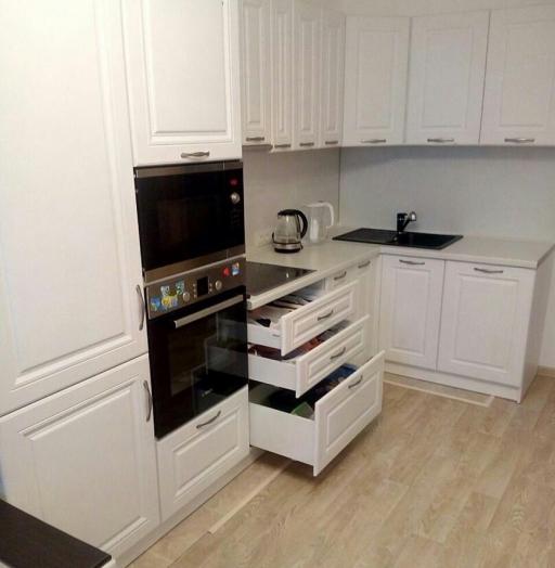 -Кухня МДФ в эмали «Модель 166»-фото18