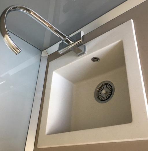 Белый кухонный гарнитур-Кухня МДФ в ПВХ «Модель 168»-фото11