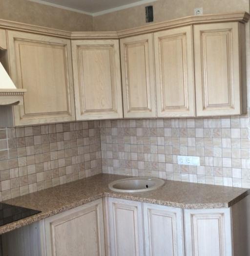 Белый кухонный гарнитур-Кухня МДФ в ПВХ «Модель 322»-фото6