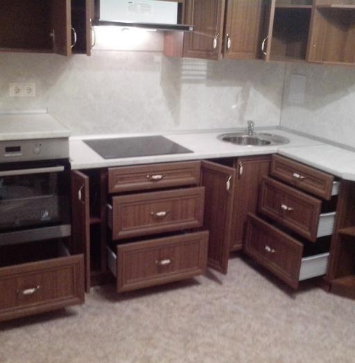 Классические кухни-Кухня из пластика «Модель 331»-фото5