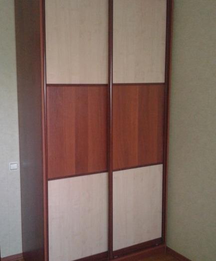 Встроенные шкафы-купе-Шкаф-купе из ЛДСП «Модель 175»-фото3